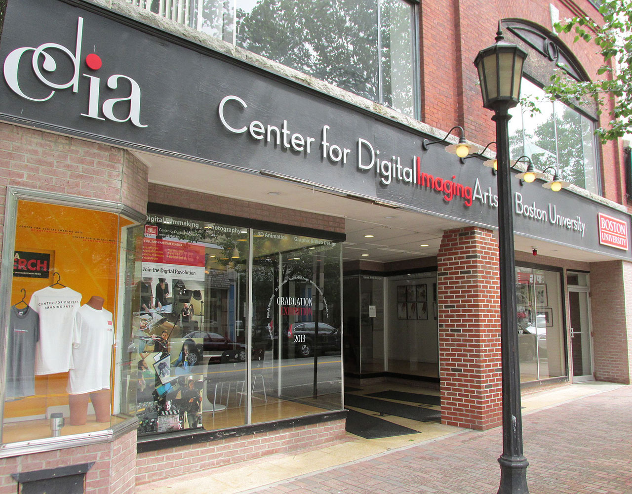 Street view of Center for Digital Imaging Arts at Boston University