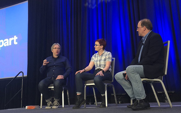 An Event Apart panel in Boston